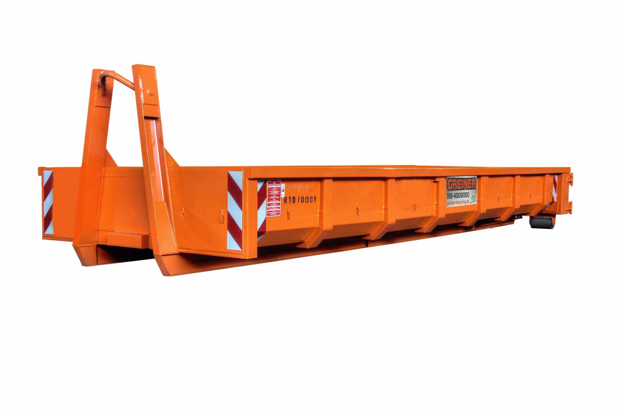 10 cbm Abrollcontainer für Bauschutt_trans