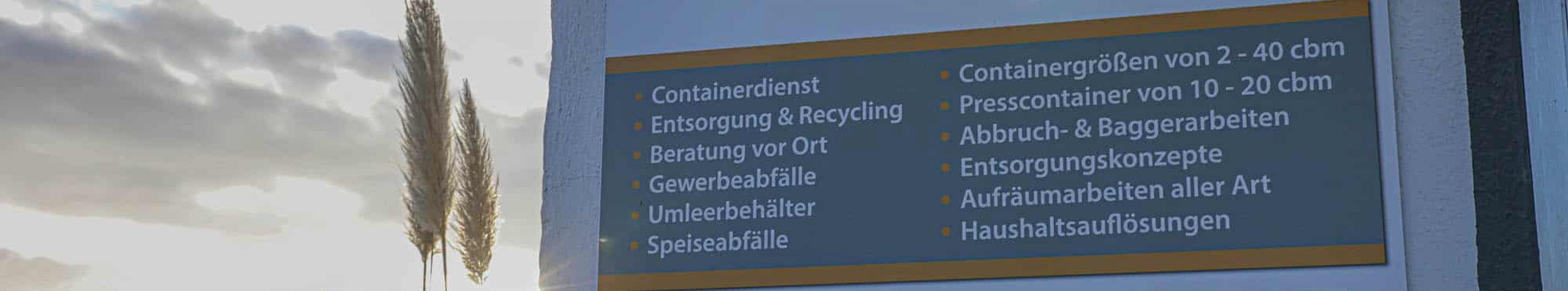 Nachhaltige Abfallentsorgung in Frankfurt